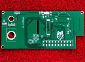 Лицевая панель трансивера Wolf-lite V2