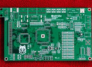 Основная плата трансивера Wolf-lite V1.1