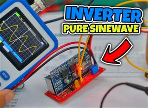 Inverter 12V-220V Pure Sinewave