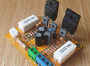 80W rms Audio Hi-Fi Power Amplifier Full-Range (tip3055 or 2sc5200)