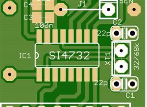 Si4732-A10 Radio Breakout Board