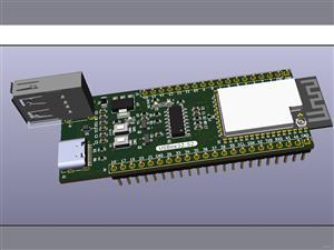 USBee32-S2  : A USB Breakout Board using ESP32-S2