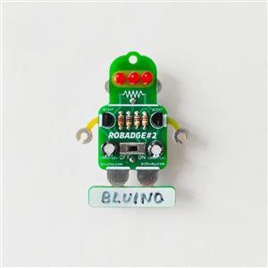 LED Blinking RoBadge#2 - Basic Soldering Kit