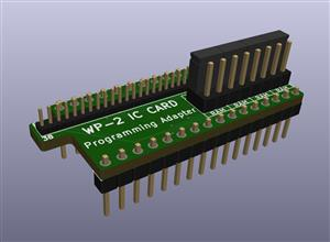 TANDY WP-2 IC Card Programming Adapter