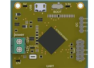 I2C-UART-BUCK