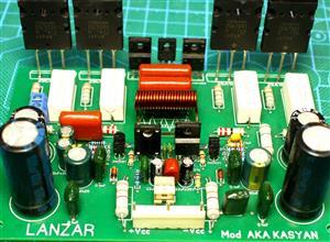 300W HI-FI power amplifier