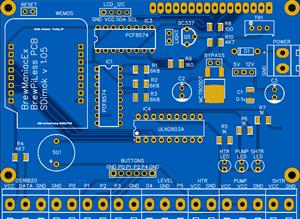 BrewManiacEx PCB - SMD