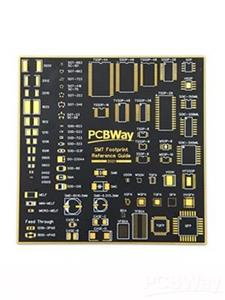 PCBWay PCB Coaster SMT Footprint Reference Guide board