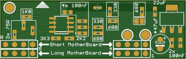 Commodore 64 and 128 (C64 / C128) RF modulator replacement