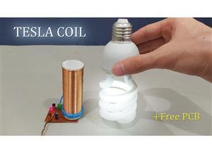 Mini Tesla Coil 4-9 Volt