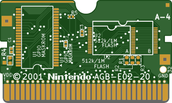 AGB-E02-20 | Game Boy Advance | Replacement PCB