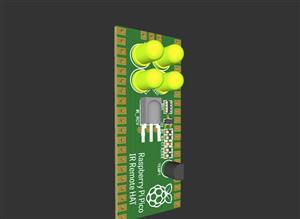 Raspberry Pi Pico IR Blaster HAT
