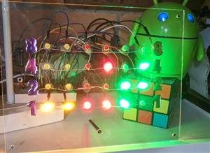 Pico LED Bin?rclock
