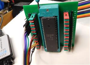 40 pin DIP / CPU breakout / comparison and debugging adapter