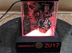 Flame Lit Dice Box
