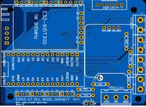 ESPK8 IoT Dev. Model NanoByt V0.1