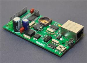 NTP based digital clock panel