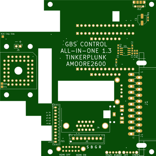 GBS-C AIO add-on board for the GBS 8200