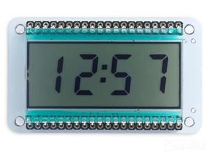 Low-Power LCD Clock