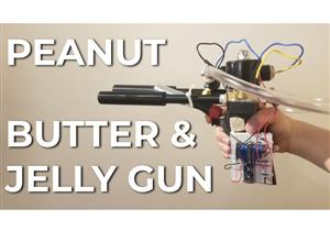 A Robot That Shoots Peanut Butter And Jelly
