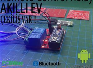 Remote control relay - arduino -  bluetooth