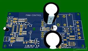 High power PWM speed control