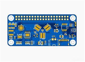 Raspberry Pi 0 LED + Power Hat