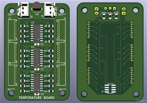 FSAE Battery Temperature Sensor