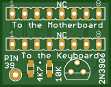 Commodore Amiga 500 IDE LED