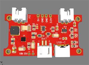 5v/3.3V Power Supply + LiPo Charger