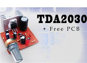 TDA2030 mono Amplifier