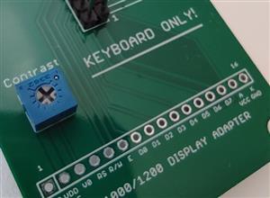 Kurzweil K1000 K1200 Display Replacement PCB