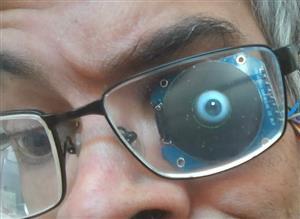 Alastor Moody Eye using Raspberry Pi Pico, CircuitPython and Round Display GC9A01
