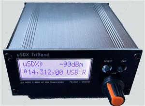 uSDX TriBand – 3 band SDR All Mode QRP Transceiver #1 (MAIN BOARD mandatory)