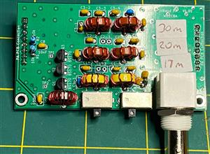 uSDX TriBand – 3 band SDR All Mode QRP Transceiver #2 Power Amplifier PCB