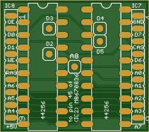 Sony MSX2+ 128K RAM expansion (HB-F1XDJ and similar models)