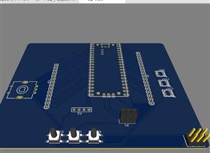 Raspberry Pi Pico Robotics Carrier board