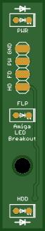 Commodore Amiga 600 LED replacement