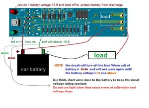 discharge lead acid battery protection