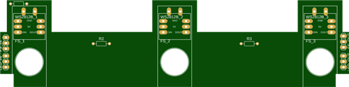 Footswtich PCB for my pedalino mini prototype