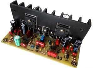 Amplifier BlackBen | Усилитель мощности с раздельным питанием BlackBen