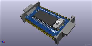 MEE2732 - 24 pin Molex 78802 Virtual 2732 EEPROM