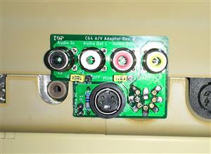 Commodore 64  Audio Video Adapter