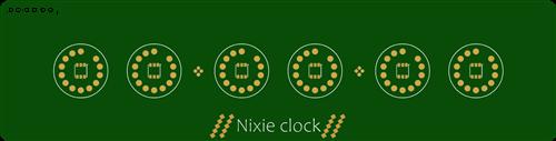 nixie clock v10