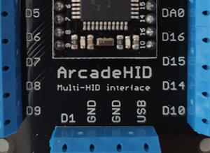 ArcadeHID - Multi HID Interface for Arcade Projects