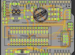 Shield Arduino programador ISP ATtiny 85