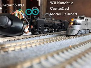 Wii Nunchuk Controlled Model Railroad