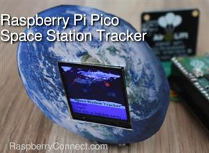 International Space Station Tracker (ISS) with a WiFi enabled Raspberry Pi Pico
