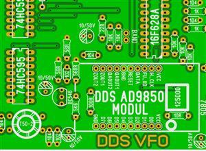 LU5DJV AD9850 DDS