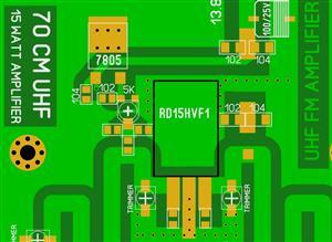PMR TRANSCEIVER POWE AMPLIFIER UHF